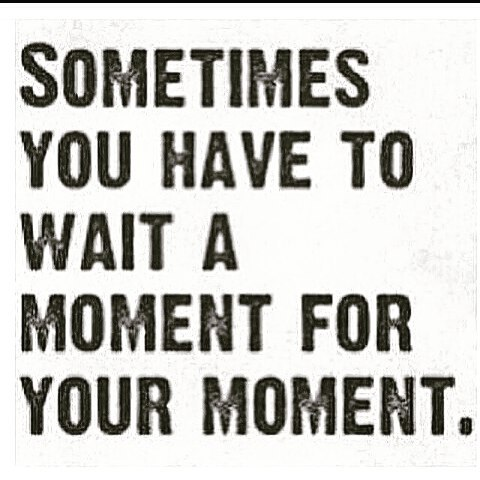 Image result for waiting is a blessing